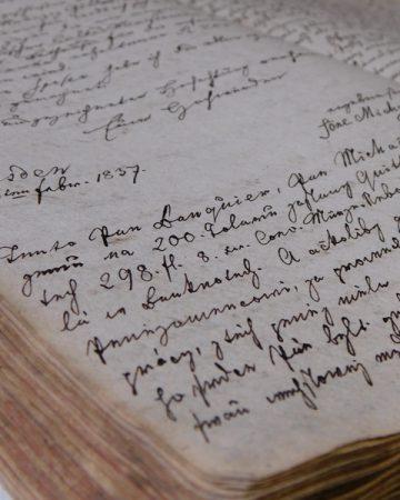 Archivní listiny a dokumenty